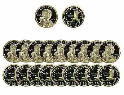 2005 S Native American Sacagawea Dollar Gem Deep Cameo PROOF 20 Coin ROLL