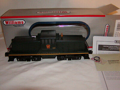 Williams Bachmann 22113 Pennsylvania Locomotive Diesel Engine O-27 Powered PRR