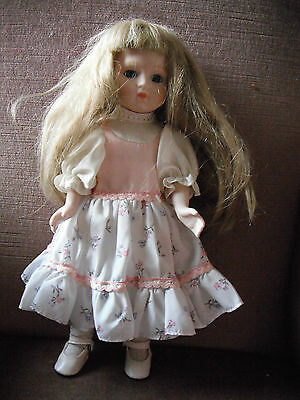 Porcelain Doll approx 34 cm tall