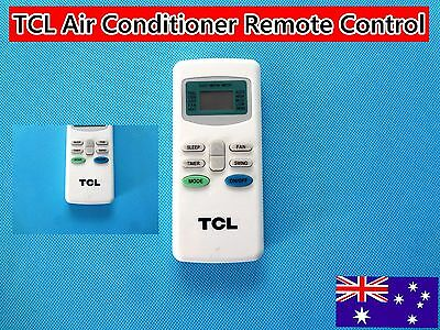 TCL Air Conditioner A/C Remote Control Replacement with LCD (C674) Brand NEW