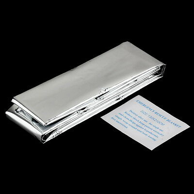 Waterproof Disposable Emergency Rescue Space Foil Thermal Blanket XC