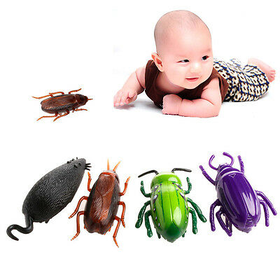 Hot Electronic Trick-Playing Toy Electric Simulation Insect Crawl Vibration Toys