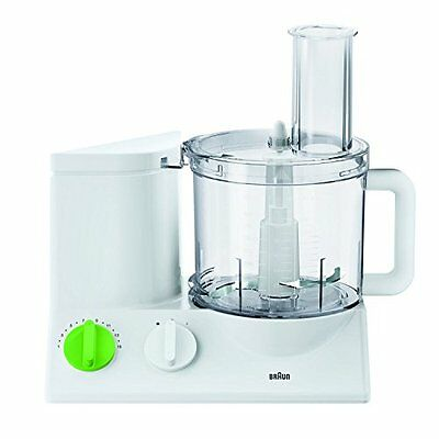 BRAUN FP3020 12-Cup Food Processor Ultra Quiet Powerful European made With Ge...