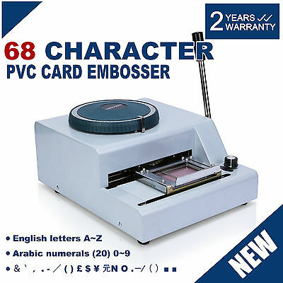 68 Personaje Máquina De Gofrado Vip Club Embossing Machine Heavy Duty Brand New