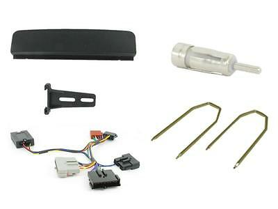 Connects2 Ford Focus MK1 Single Din Car Stereo Facia Fitting kit + Stalk Control