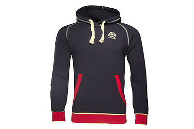 Macron Scotland 2016/17 Heavy Cotton Hooded Rugby