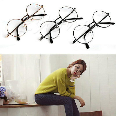 Unisex Retro Readers Reading Glasses +1.0 ~ +4.0 Round Presbyopic