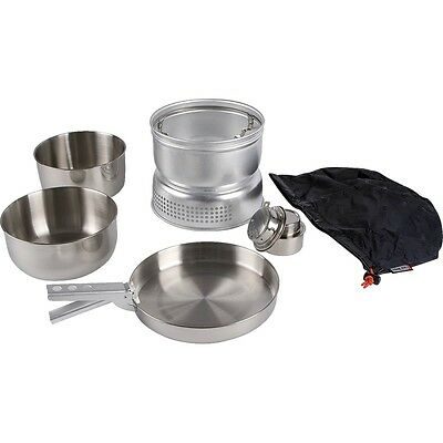 Tatonka Multi Set + Alkohol Burner, Spiritus Kocher Sturmkocher Campingkocher