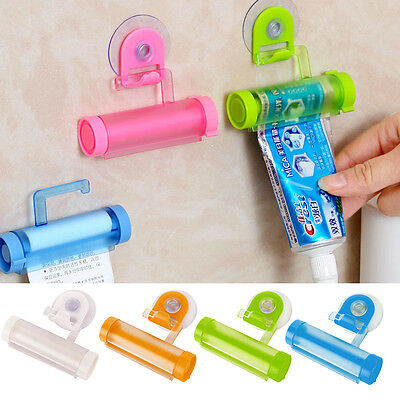 3X Makeup Toothpaste Cleanser Squeezer Extruder Home Hand Tool Bathroom Gadgets