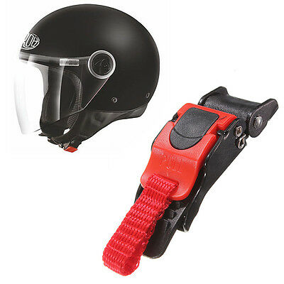 Motor Bike ATV Helmet Chin Strap Speed Sewing Clip 9 Gear Quick Release Buckle
