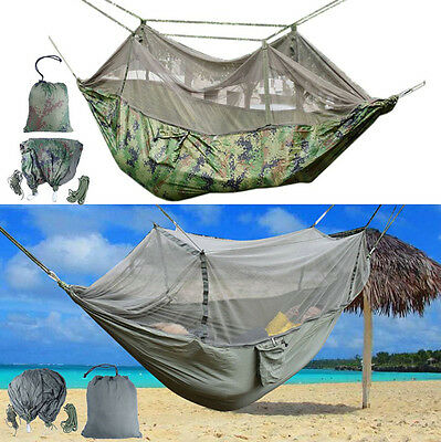 New Hammock+Mosquito Net For Outdoor Travel Jungle Camping,Fishing,Hiking,Garden