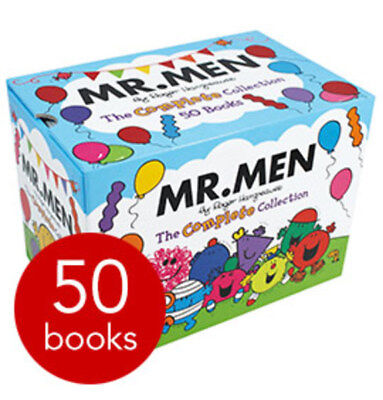 Mr. Men: The Complete Collection - 50 Books