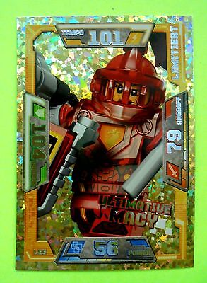 Lego Nexo Knights LE 5 Ultimative Macy Limitierte Auflage Trading Card Game