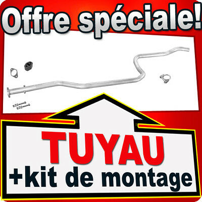 Tuyau D'échappement FORD FIESTA IV MAZDA 121 1.3 50/60 PS 1998-2002 PPP