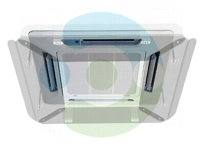 Deflector Redirect air conditioner cassette system, wing vent ceiling,  cover