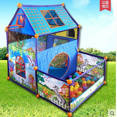 children's tent Super game room toy home indoor house dunk play tent ball pool