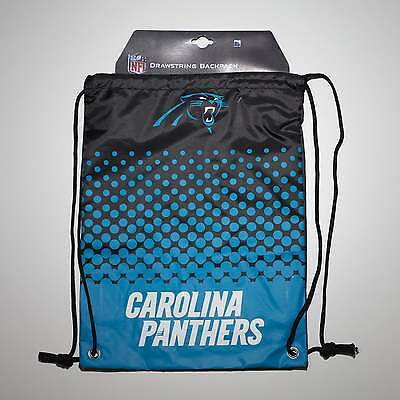 Forever Collectibles NFL Carolina Panthers Fade Drawstring Backpack