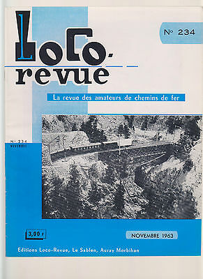 Locor Revue N°234 St Gothard / Wagon Plat Type Ssy / Locotracte C 20151 A 20159