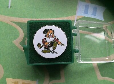 Disney Golf Ball Marker Grumpy With Post New