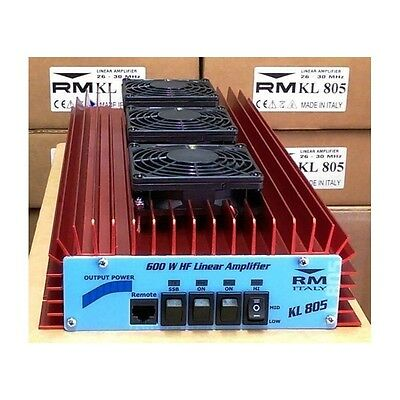 Amplificatore lineare RM Italy KL805 24V Rosso/Bordeaux