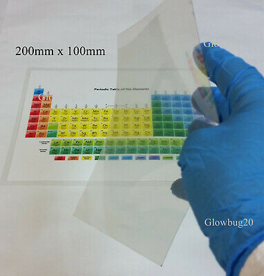 ITO on PET film: 200mm x 100mm Transparent conductive film: 30 ohm/square