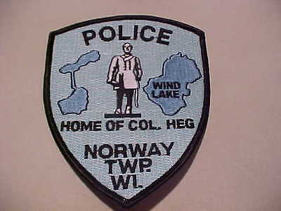 Norway Twp.  Wisconsin Police Patch