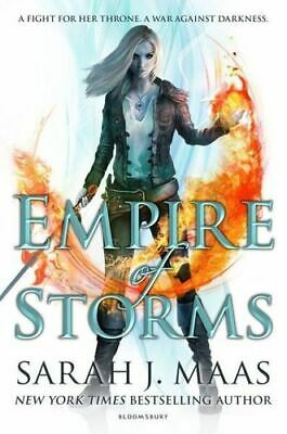 NEW Empire of Storms By Sarah J. Maas Paperback Free Shipping