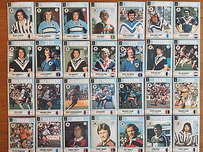 1977 Scanlens Rugby League Trading Cards (COMPLETE Set)