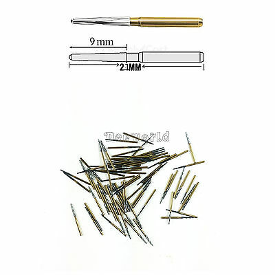 NEW 10PCS Dentsply Maillefer Endo-Z Burs FG 21mm tapered burs for pulp chamber