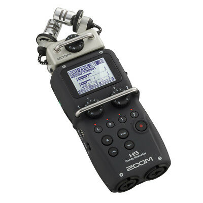 Zoom H5 Portable Stereo Audio Recorder + Accessory Pack
