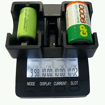 PureTek D cell & C cell to AA Adapter for battery charger x2 (UK stock)