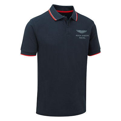 Aston Martin Racing Travel Polo Shirt-Le Mans-Motorsport-Rrp.£50.00