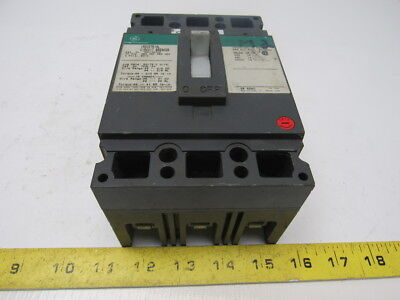 GE TED134070 70A 480V 250VDC 3 Pole Molded Circuit Breaker