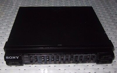 Sony XE-90 MKII (XE90MK2) 9 Band Pre-amp with subwoofer output - ede