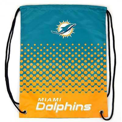 Forever Collectibles NFL Miami Dolphins Fade Drawstring Backpack