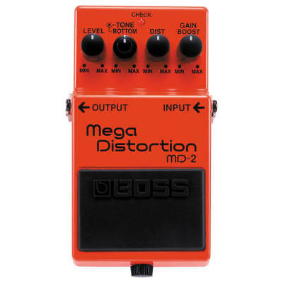 Boss MD-2 Mega Distortion Effects Pedal