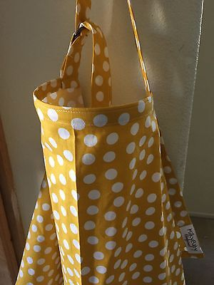 NEW  >NURSING COVER like HOOTER hider* BREASTFEEDING Dots Moda XL 42X27""