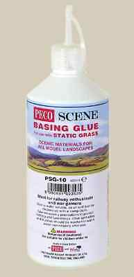 Static Grass basing glue for all gauge scenery - PECO PSG-10 - free post