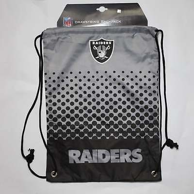 Forever Collectibles NFL Oakland Raiders Fade Drawstring Backpack