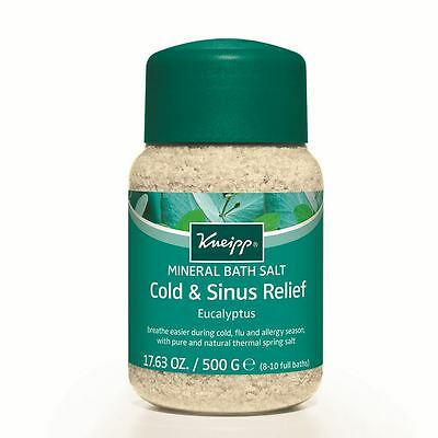 Kneipp Eucalyptus Cold Season Bath Salts 500g