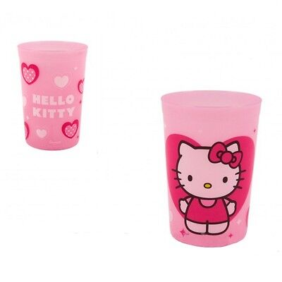 Gobelet Hello Kitty Disney verre plastique enfant