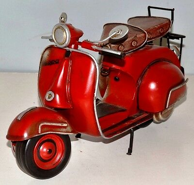 Vespa Roller 1959 Blechmotorrad Blechmodell Tin Model Vintage Bike 30 cm 37553