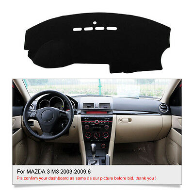 DashMat Dashboard Cover For MAZDA 3 M3 2003 2004 2005 2006 2007 2008-2009.6 Mat