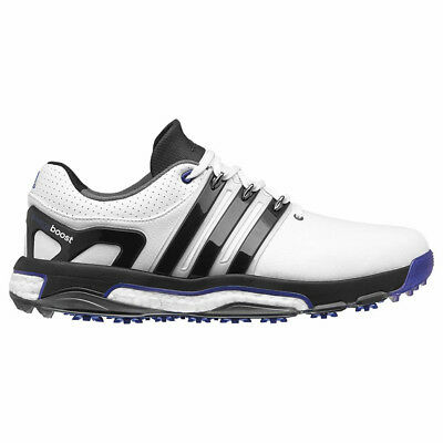 New 2016 Adidas Mens ASYM ENERGY BOOST RH Golf Shoes White / Black - Any Size!