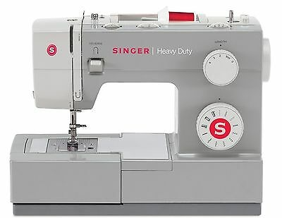 Singer Sewing Machine Heavy Duty Electric Portable Industrial Hand Stitch Held