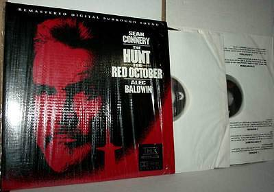 The Hunt For Red October Remastered Clv Laser Disc Usato Buono Stato Vbc 45690