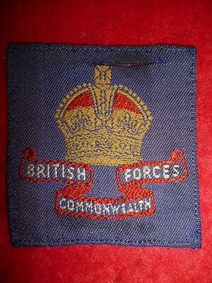 Formation Patch - British Commonwealth Occupation Forces Japan