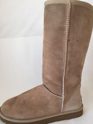 Ugg Womens Boots Classic Tall Sand Size 8