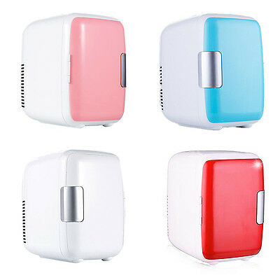 Mini Portable Refrigerator Fridge Freezer Cooler Warmer Auto Car Home Office 4L