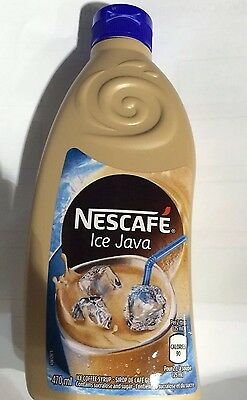 Brand New 12 Bottles Nescafe Ice Java Cappuccino 470ml/16oz